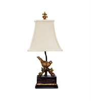 Picture for category Table Lamps 1 Light With Gold Leaf / Black Composite Metal Medium Base 21 inch 60 Watts