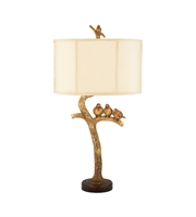 Picture for category Table Lamps 1 Light With Gold Leaf / Black Composite Medium Base 31 inch 100 Watts