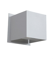 Picture for category RLA Access RL-140116 Wall Sconces White Aluminum Square