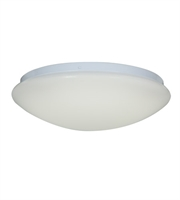 Picture for category Flush Mounts 1 Light With White Tones Finish and Metal Material 4 inch 22 Watts