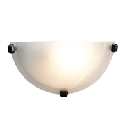 Picture for category Wall Sconces 1 Light With Oil Rubbed Bronze Finish and Steel Material 6 inch 60 Watts