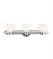 Picture for category Bathroom Vanity 3 Light With Chrome Finished and Metal Material 8 inch 180 Watts