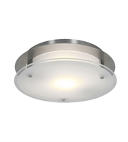 Picture for category RLA Access RL-78072 Flush Mounts Brushed Steel Metal VisionRound