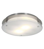Picture for category RLA Access RL-78074 Flush Mounts Brushed Steel Metal VisionRound