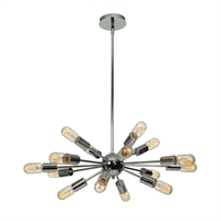 Picture for category Access Lighting 55543-CH Pendants Chrome Metal Flux
