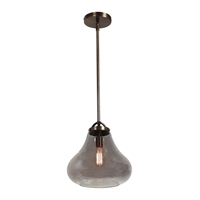Picture for category Access Lighting 55546-DBRZ/SMK Pendants Dark Bronze Metal Flux