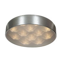 Picture for category Access Lighting 70080LEDD-BSL/ACR Flush Mounts Brushed Siler Aluminum Meteor