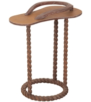 Picture for category Guild Master 7116557 Tables Charcoal Brown Solid Mahogany Sandal