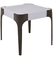 Picture for category Guild Master 7117014 Tables Cappucino Foam and Antiqued Brass Metal Wood Teak
