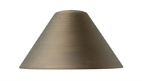 "Picture for category Matte Bronze Tone Finish Lighting Accessories 4"" Wide Cast Brass LED 1 Light Fixture"