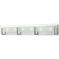 "Picture for category Bathroom Vanity 6 Light Fixtures With Brushed Nickel Finish Steel Material LCP-60 Bulb 38"" 252 Watts"