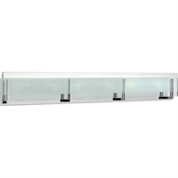 "Picture for category Bathroom Vanity 6 Light Fixtures With Chrome Finish Steel Material LCP-60 Bulb 38"" 252 Watts"