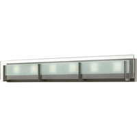 "Picture for category Bathroom Vanity 6 Light Fixtures With Oil Rubbed Bronze Finish Steel Material LCP-60 Bulb 38"" 252 Watts"