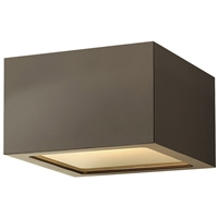 Picture for category RLA Hinkley RL-148369 Outdoor Wall Sconces Bronze Extruded Aluminum Kube