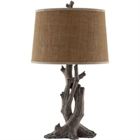 Picture for category Table Lamps 1 Light Fixtures With Resin Finish Polyresin Material A-15 Bulb 16 inch Wide 150 Watts