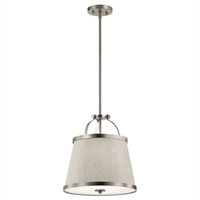 Picture for category Kichler Lighting 44107NI Pendants Brushed Nickel Steel Amarena