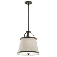 Picture for category Kichler Lighting 44107OZ Pendants Olde Bronze Steel Amarena