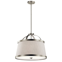 Picture for category Kichler Lighting 44108NI Pendants Brushed Nickel Steel Amarena