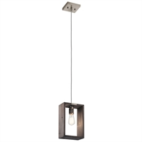 Picture for category Kichler Lighting 44217CLP Pendants Classic Pewter Steel Industrial Frames