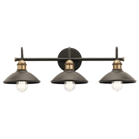 Picture for category Kichler Lighting 45945OZ Bath Lighting Olde Bronze Steel Clyde