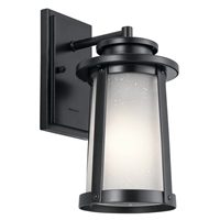 Picture for category Kichler Lighting 49917BK Wall Sconces Black Aluminum Harbor Bay
