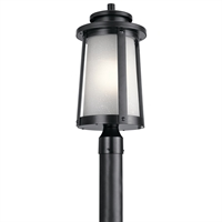 Picture for category Kichler Lighting 49920BK Outdoor Post Light Black Aluminum Harbor Bay