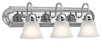 Picture for category Kichler Lighting 5337CHS Bath Lighting Chrome Steel Signature