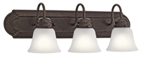 Picture for category Kichler Lighting 5337TZS Bath Lighting Tannery Bronze Steel Signature