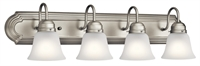 Picture for category Kichler Lighting 5338NIS Bath Lighting Brushed Nickel Steel Signature