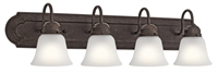 Picture for category Kichler Lighting 5338TZS Bath Lighting Tannery Bronze Steel Signature