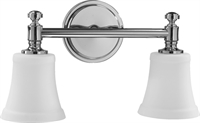 Picture for category Bathroom Vanity 2 Light With Chrome Finish Medium Base Bulb Type 17 inch 200 Watts