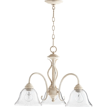 Picture of Pendants 3 Light With Persian White Finish Medium Base Bulb Type 21 inch 300 Watts