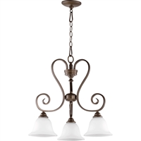 Picture for category Pendants 3 Light With Oiled Bronze Finish Medium Base Bulb Type 21 inch 300 Watts