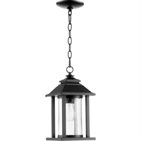 Picture for category Outdoor Pendant 1 Light With Noir Tones Finish Medium Base Bulb Type 7 inch 60 Watts