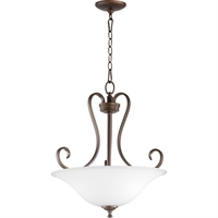 Picture for category Pendants 3 Light With Oiled Bronze Finish Medium Base Bulb Type 19 inch 225 Watts