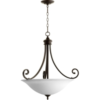 Picture for category Pendants 4 Light With Oiled Bronze Finish Medium Base Bulb Type 28 inch 300 Watts