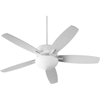 Picture for category Indoor Ceiling Fans 2 Lights With Studio White Finish Medium Base Bulb 26 Watts