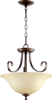 Picture for category Semi Flush Mounts 2 Light With Oiled Bronze Finish Medium Base Bulbs 18 inch 150 Watts