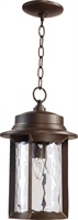 Picture for category Outdoor Pendant 1 Light With Oiled Bronze Finish Medium Base Bulbs 10 inch 100 Watts