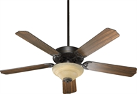 Picture for category Indoor Ceiling Fans 2 Light With Old World Finish GU24 Bulb Type 52 inch 26 Watts