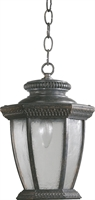 Picture for category Outdoor Pendant 1 Light With Baltic Granite Finish Medium Base Bulbs 10 inch 100 Watts