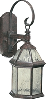 Picture for category Wall Sconces 1 Light With Baltic Granite Finish Medium Base Bulbs 8 inch 100 Watts
