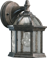 Picture for category Wall Sconces 1 Light With Baltic Granite Finish Medium Base Bulbs 6 inch 60 Watts
