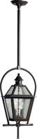 Picture for category Outdoor Pendant 2 Light With Oiled Bronze Finish Candelabra Base Bulbs 11 inch 120 Watts
