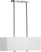 Picture for category Pendants 4 Light With Satin Nickel Finish Medium Base Bulb Type 10 inch 240 Watts