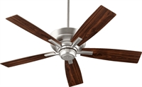 Picture for category Indoor Ceiling Fans 4 Light Satin Nickel Tone Finish Metal Glass 52 inch 100 Watts