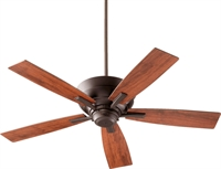 Picture for category Indoor Ceiling Fans 4 Light With Oiled Bronze Finish Vintage Walnut 52 inch 100 Watts