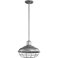 Picture for category Outdoor Pendant 1 Light With Graphite Finish Medium Base Bulbs 12 inch 100 Watts