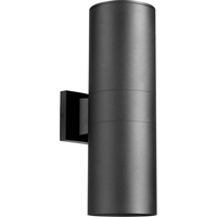 Picture for category Wall Sconces 2 Light With Noir Tones Finish Medium Base Bulb Type 6 inch 180 Watts