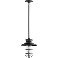 Picture for category Outdoor Pendant 1 Light With Noir Finish Medium Base Bulb Type 10 inch 100 Watts